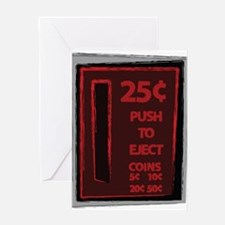 Push To Eject Greeting Card