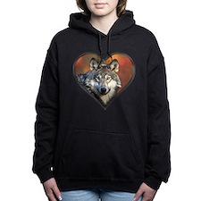 Wolf Heart Hooded Sweatshirt