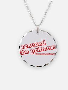 Cute Princess peach Necklace