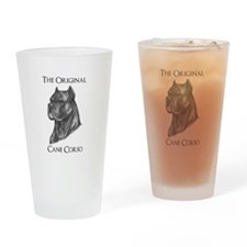 Original Cane Corso -Drinking Glass
