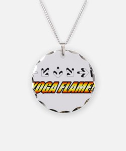 Yoga Flame Necklace