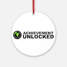 Achievement Unlocked Ornament (Round)