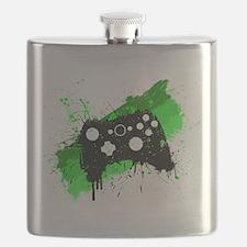 Graffiti Box Pad Flask