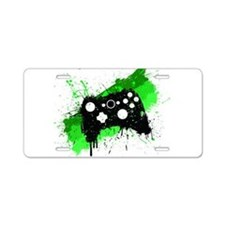 Graffiti Box Pad Aluminum License Plate