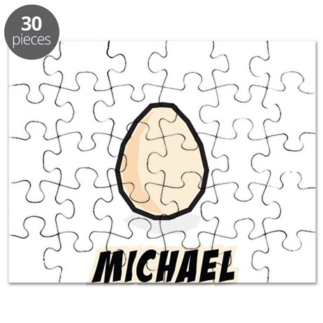 Michael is an Egg Puzzle