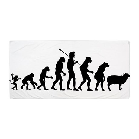 Modern Evolution Beach Towel