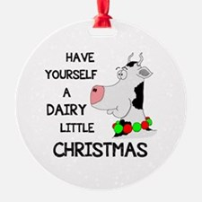 DAIRY LITTLE CHRISTMAS Ornament