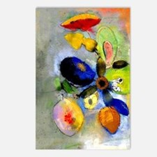 Odilon Redon floral paint Postcards (Package of 8)