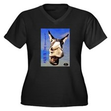 PAIN IN THE DONKEY - Blue Sky Plus Size T-Shirt