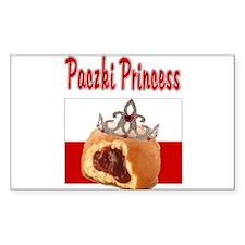 Paczki Princess Rectangle Decal