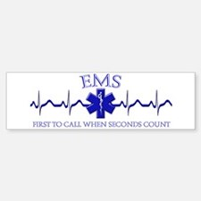 EMS Bumper Car Car Sticker