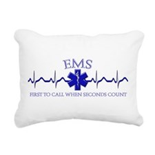 EMS Rectangular Canvas Pillow