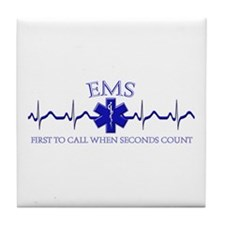 EMS Tile Coaster
