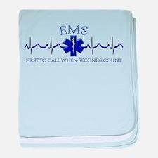 EMS baby blanket