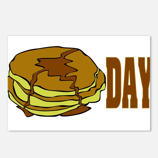 pancakeday.png Postcards (Package of 8)