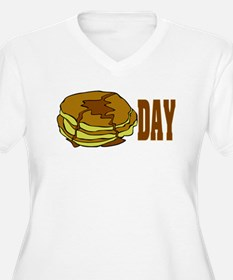 pancakeday.png Plus Size T-Shirt
