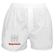 """Trumpet """"Represent"""" Boxer Shorts"""