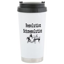 New Years Resolution Travel Mug