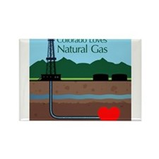 Colorado Loves Natural Gas Magnets