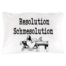 New Years Resolution Pillow Case