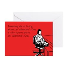 Why You're Alone Greeting Card