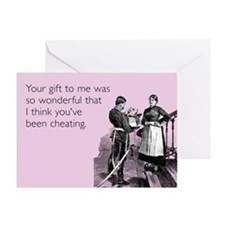 Wonderful Gift Greeting Card