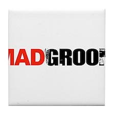 Mad Groom Tile Coaster