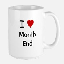 Financial Accountant Mug - I Love Month End Mugs