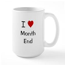 Financial Accountant Mug - I Love Month End Mugs