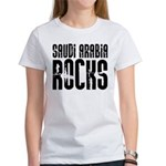 Saudi Arabia Rocks Women's T-Shirt