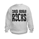 Saudi Arabia Rocks Kids Sweatshirt
