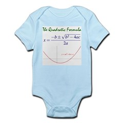Quadratic Formula Infant Bodysuit
