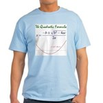 Quadratic Formula Light T-Shirt