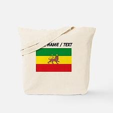 Custom Ethiopian Flag Tote Bag