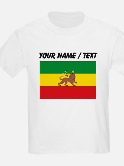 Custom Ethiopian Flag T-Shirt