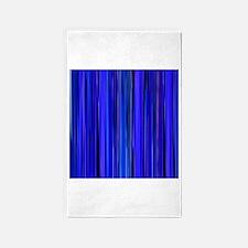 Blue Stripes 3'x5' Area Rug