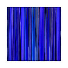 Blue Stripes Queen Duvet