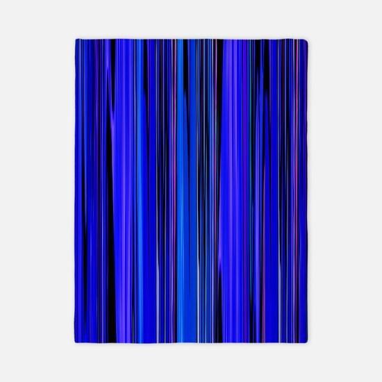 Blue Stripes Twin Duvet