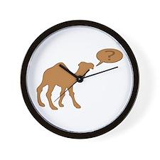 HUMP DAY HUMP DAY CAMEL Wall Clock