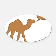 HUMP DAY HUMP DAY CAMEL Oval Car Magnet
