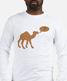 HUMP DAY HUMP DAY CAMEL Long Sleeve T-Shirt