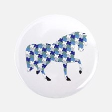 "2014 Horse year 3.5"" Button"