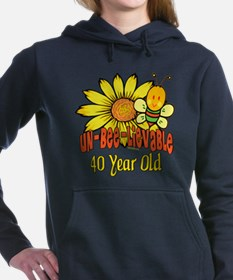 UNBELIEVABLEat40.png Hooded Sweatshirt