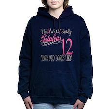 Fabulous 12yearold.png Hooded Sweatshirt