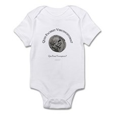 Vercingétorix (latin/français) Infant Bodysuit
