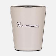 Groomsmen Shot Glass