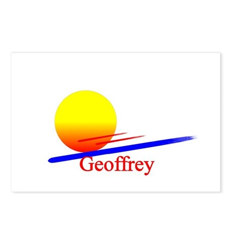 Geoffrey Postcards (Package of 8)
