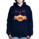 SEXYat20.png Hooded Sweatshirt