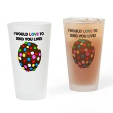 Candy crush Drinking Glass