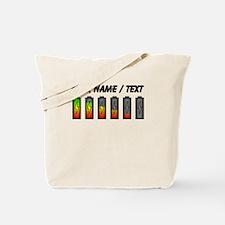 Custom Battery Draining Tote Bag